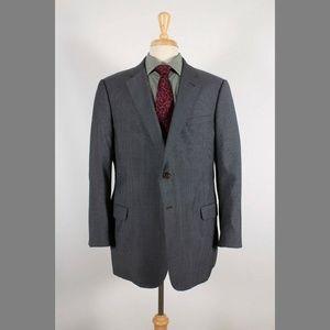 Armani Collezioni 46S Gray Stripe Sport Coat B208